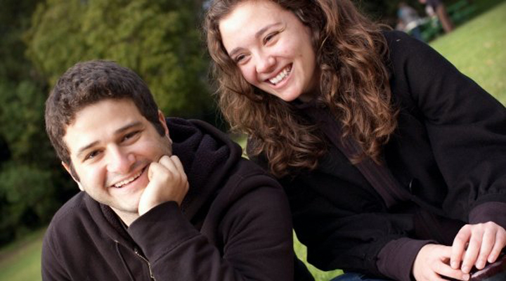 Cari Tuna with her billionaire husband Dustin Moskovitz